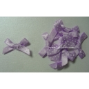 Swiis Dot - Satin Bows - Lilac