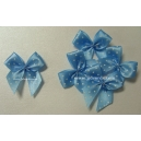 Dotty Bows - Baby Blue