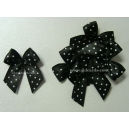 Dotty Bows - Black