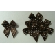 Dotty Bows - Chocolate