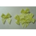 Dotty Bows - Lemon