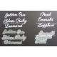 PEARL EMERALD SAPPHIRE & OUR GOLDEN RUBY SILVER DIAMOND -  MULTIBUY