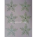 Rhinestone Snowflakes - 35mm Aurora Borealis