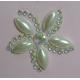 Pearl & Diamante Flowers