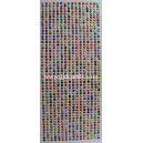 Rhinestud Strips - Multi-Coloured