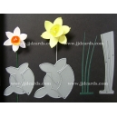 BRITANNIA DIES - MEDIUM & LARGE DAFFODIL WITH LEAVES