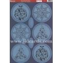 Kanban - Ornate Baubles Blue