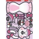 Kanban Christmas Wobbler - Pinky Bear