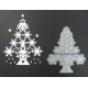 BRITANNIA DIES - SNOWFLAKE CHRISTMAS TREE SMALL - 176
