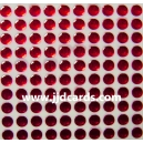 Red Flat Gems 4mm