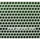 Green Flat Gems - 3mm