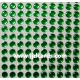 Green Flat Gems - 4mm