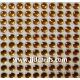 Amber Flat Gems - 4mm