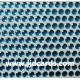 Aqua Flat Gems - 3mm
