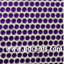 Purple Flat Gems - 3mm