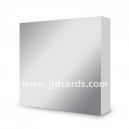 Hunkydory - 6 x 6 Mirri Mats - Stunning Silver - 100 sheets