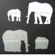 BRITANNIA DIES - ELEPHANT FAMILY - 190