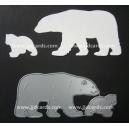 BRITANNIA DIES - POLAR BEAR FAMILY - 200