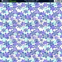 Ditsy Snowflake - Blue