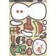 Kanban Christmas Wobbler - Sidney the Snowman