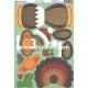 Kanban Christmas Wobbler - Turkey