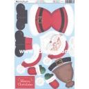 Kanban Christmas Wobbler - Santa