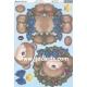 Kanban Christmas Wobbler - Bear