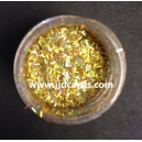 Gold Holographic Stripe - Glitter Strands