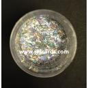 Silver Holographic Stripe - Glitter Strands