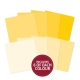 Colour Families Paper Pad - Yellow