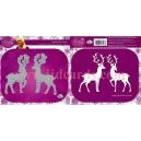 Dawn Bibby - Regal Reindeer Die Set - DBD26