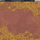 Timeless Vintage Scrolls - Rust
