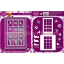 Dawn Bibby - Window To Christmas Die Set - DBD30