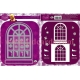 Dawn Bibby - Festive Window Die Set - DBD33