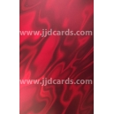 Illusion Card - Red Satin