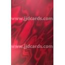 Illusion Card - Red Satin