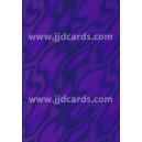 Illusion Card -Purple Satin