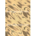Illusion Card - Gold Satin
