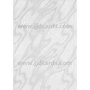 Illusion Card - White Satin