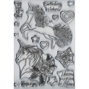 Dawn Bibby - Magical Unicorns Clear Stamp Set
