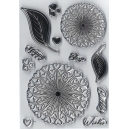 Dawn Bibby - Charlee Flower Clear Stamp Set - DBS23