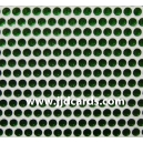Green Flat Gems - 3mm