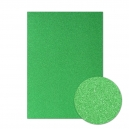 Diamond Sparkles Shimmer Card - Emerald Green - SFC009