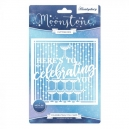 Hunkydory - Moonstone Dies - Occasions Cut-a-Card - Celebrating You Card