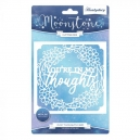 Hunkydory - Moonstone Dies - Occasions Cut-a-Card - In My Thoughts Card