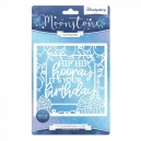 Hunkydory - Moonstone Dies - Occasions Cut-a-Card - It's Your Birthday Card
