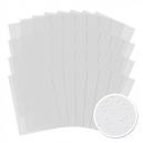 Snowfall Acetate - White - 32 Sheet Multibuy
