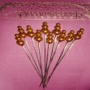 Embellishment Pins - Gold
