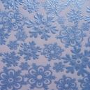 Crystal Snowflakes - Blue
