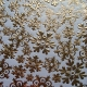 Crystal Snowflakes - Gold